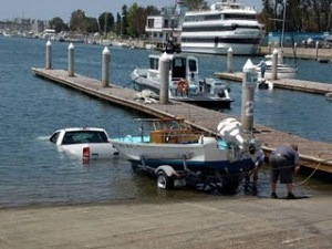 The way (not) to get your Boat in to the Water